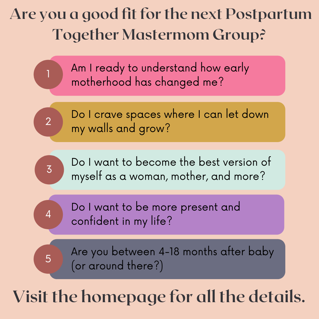 new mom group details